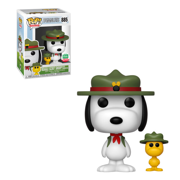 PEANUTS - BEAGLE SCOUT SNOOPY WITH WOODSTOCK (EXCLUSIVE)
