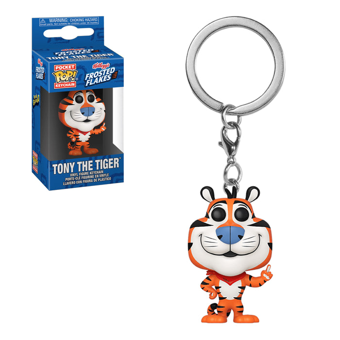 POCKET POP KEYCHAINS - TONY THE TIGER (FROSTED FLAKES)