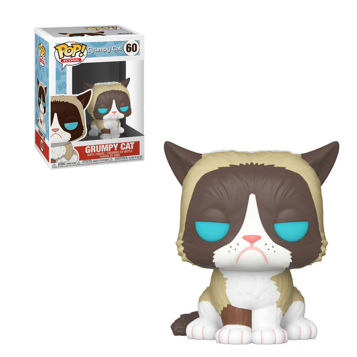 POP ICONS - GRUMPY CAT (PRE-ORDER)