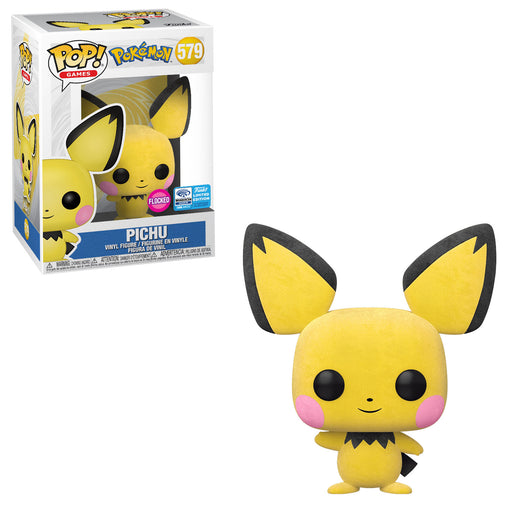 POKÉMON - PICHU (FLOCKED) EXCLUSIVE