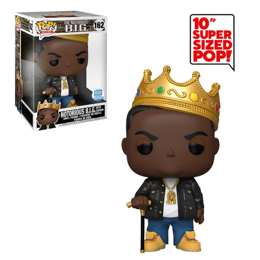 "POP ROCKS - NOTORIOUS B.I.G - WITH CROWN (10"") (EXCLUSIVE)"