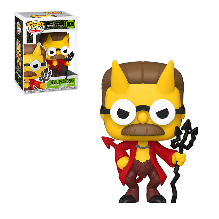 SIMPSONS: TREEHOUSE OF HORROR - DEVIL FLANDERS (PRE-ORDER)