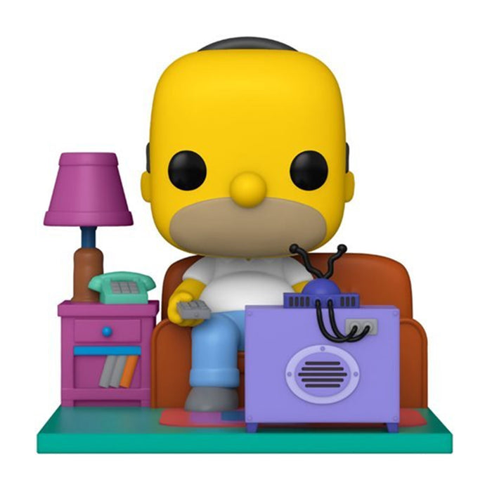 SIMPSONS - HOMER WATCHING TV (POP DELUXE) (PRE-ORDER)
