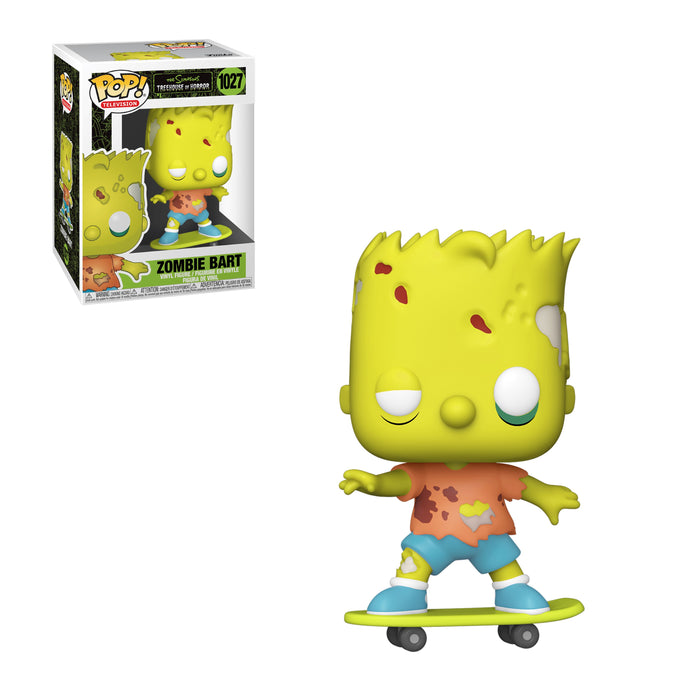 SIMPSONS: TREEHOUSE OF HORROR - ZOMBIE BART (PRE-ORDER)