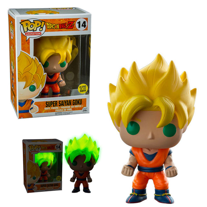 DRAGON BALL Z – SUPER SAIYAN GOKU (GITD) EXCLUSIVE