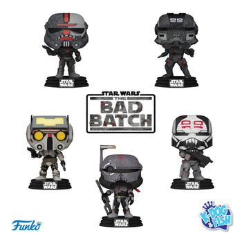 STAR WARS - THE BAD BATCH: SET (PRE-ORDER)
