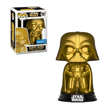 STAR WARS - DARTH VADER (GOLD) (EXCLUSIVE) (BOX IMPERFECTIONS)