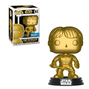STAR WARS - LUKE SKYWALKER (GOLD) (EXCLUSIVE) (BOX IMPERFECTIONS)