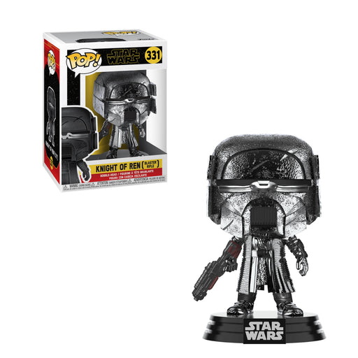 STAR WARS: THE RISE OF SKYWALKER - KNIGHT OF REN (BLASTER) (HEMATITE CHROME)