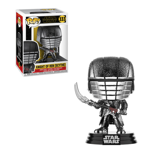 STAR WARS: THE RISE OF SKYWALKER - KNIGHT OF REN (SCYTHE) (HEMATITE CHROME)