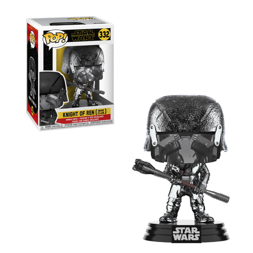 STAR WARS: THE RISE OF SKYWALKER - KNIGHT OF REN (WAR CLUB) (HEMATITE CHROME)
