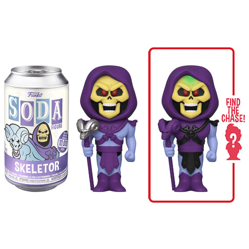 FUNKO SODA CAN: VINYL FIGURE - SKELETOR (LIMITED 10,000)