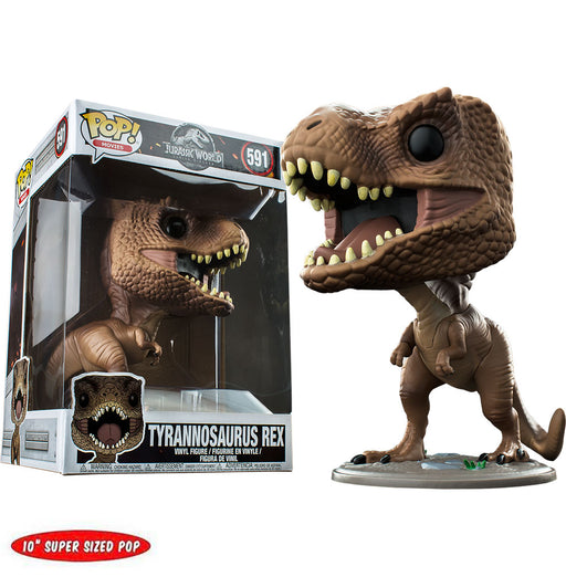 "JURASSIC WORLD: FALLEN KINGDOM - TYRANNOSAURUS REX (10"") EXCLUSIVE"