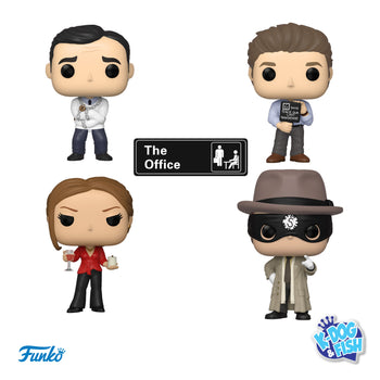 THE OFFICE: 4-POP SET