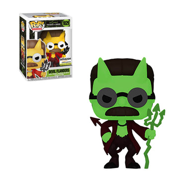 SIMPSONS: TREEHOUSE OF HORROR - DEVIL FLANDERS (GLOW) (EXCLUSIVE) (BOX IMPERFECTIONS)