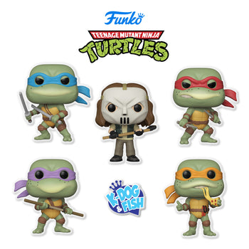 TEENAGE MUTANT NINJA TURTLES - SET