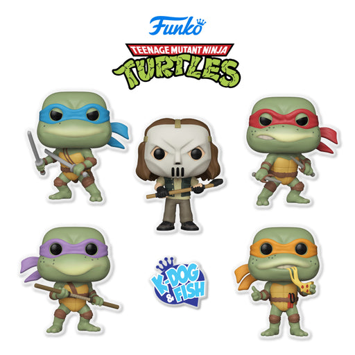 TEENAGE MUTANT NINJA TURTLES - SET (PRE-ORDER)