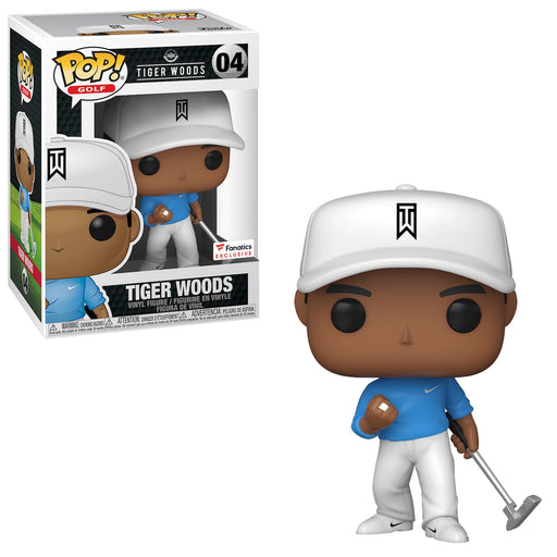 TIGER WOODS (WITH BLUE SHIRT) EXCLUSIVE