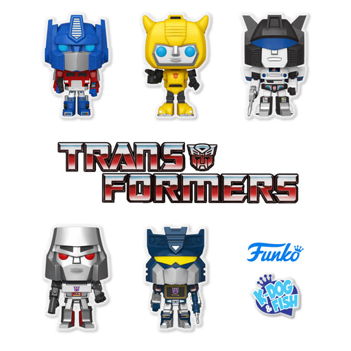 RETRO TOYS - TRANSFORMERS - SET OF 5 (PRE-ORDER)