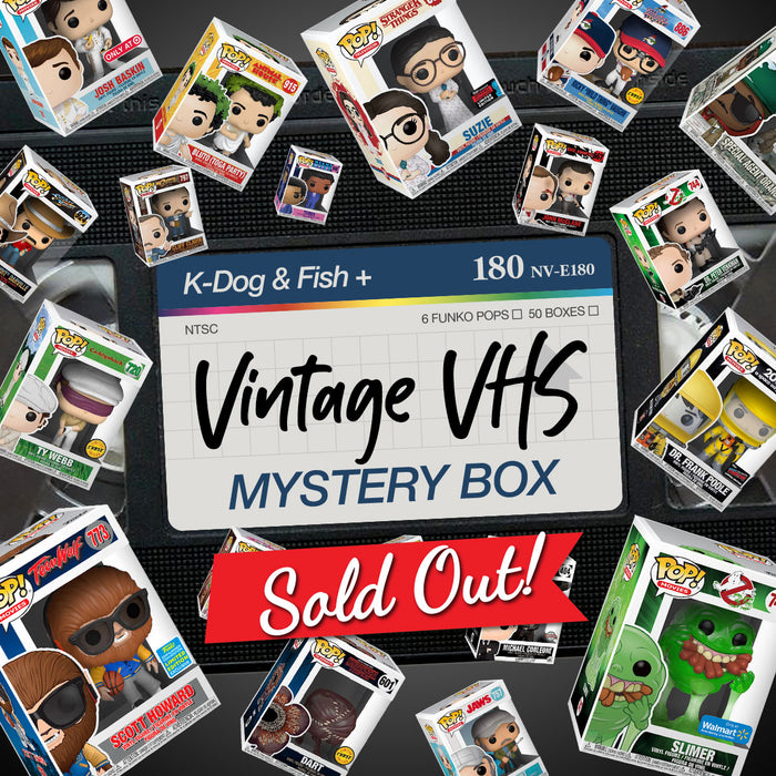 K-DOG & FISH: VINTAGE VHS MYSTERY BOX (SOLD OUT)