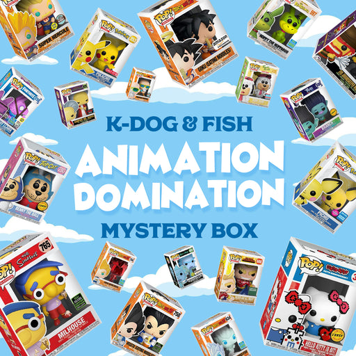 K-DOG & FISH: ANIMATION DOMINATION MYSTERY BOX