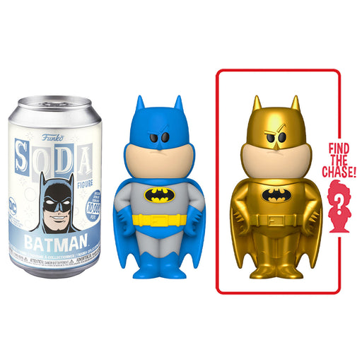FUNKO SODA CAN: VINYL FIGURE - BATMAN (LIMITED 10,000)