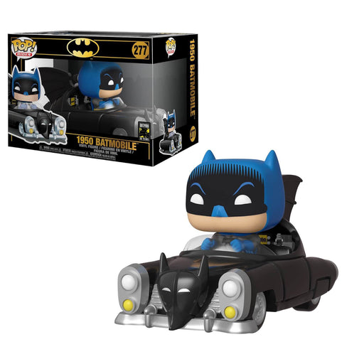 BATMAN IN BATMOBILE (80TH ANNIVERSARY) (POP RIDES)