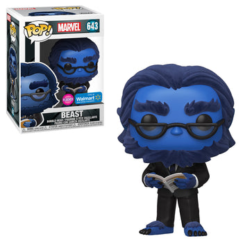 MARVEL: X-MEN (20TH) - BEAST (FLOCKED EXCLUSIVE) (BOX IMPERFECTIONS)