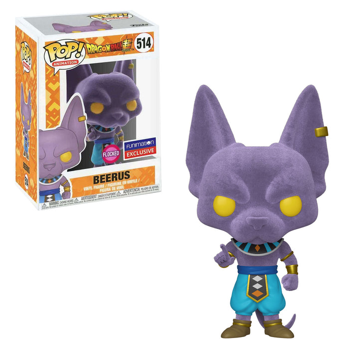DRAGON BALL SUPER - BEERUS (FLOCKED) EXCLUSIVE