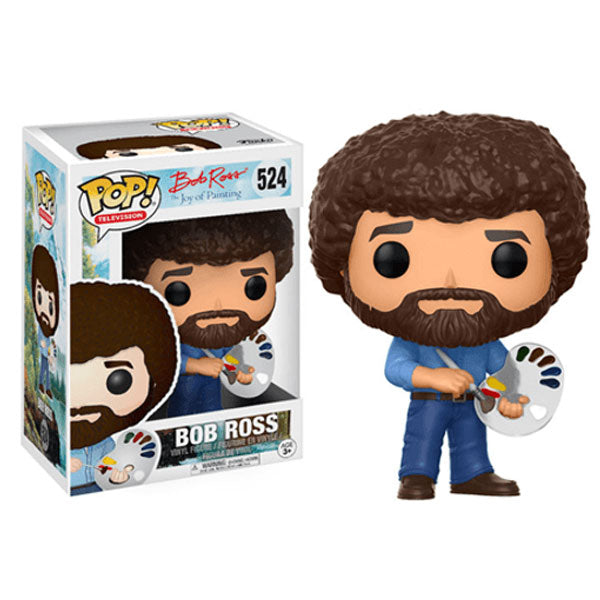 BOB ROSS - WITH PAINT