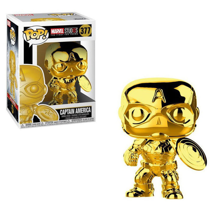MARVEL STUDIOS - CAPTAIN AMERICA (GOLD CHROME)