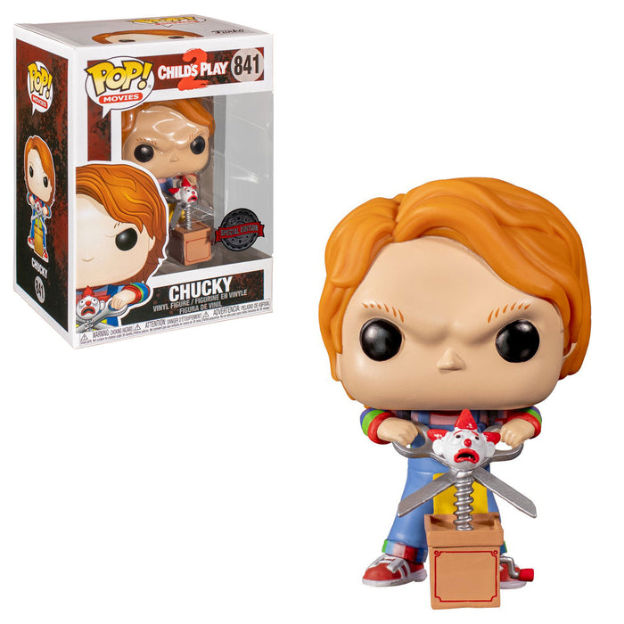 CHILD'S PLAY 2 - CHUCKY WITH SCISSORS (EXCLUSIVE)