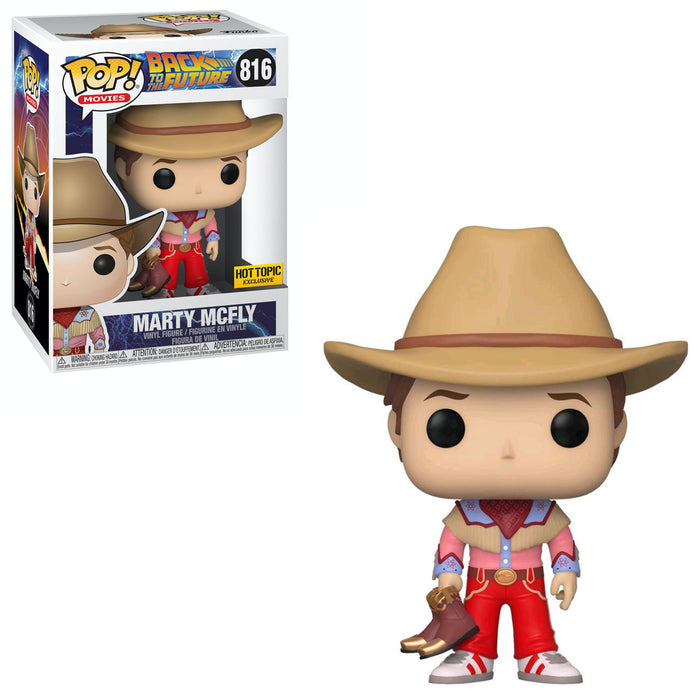 BACK TO THE FUTURE - COWBOY MARTY (EXCLUSIVE)