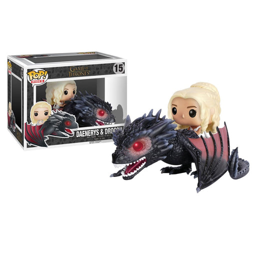 GAME OF THRONES - DAENERYS & DROGON (POP RIDES)