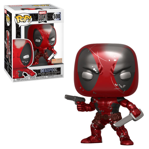 MARVEL - DEADPOOL: 1ST APPEARANCE (80TH) METALLIC EXCLUSIVE
