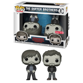 STRANGER THINGS - THE DUFFER BROTHERS (2-PACK) EXCLUSIVE (BOX IMPERFECTIONS)