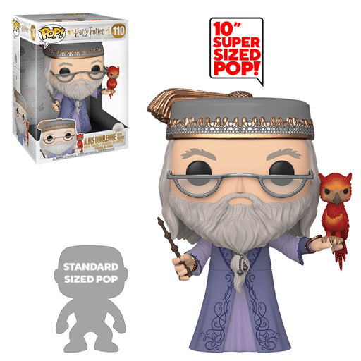 "HARRY POTTER - ALBUS DUMBLEDORE WITH FAWKES (10"")"