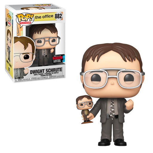 THE OFFICE - DWIGHT SCHRUTE (WITH BOBBLEHEAD) (NYCC) EXCLUSIVE