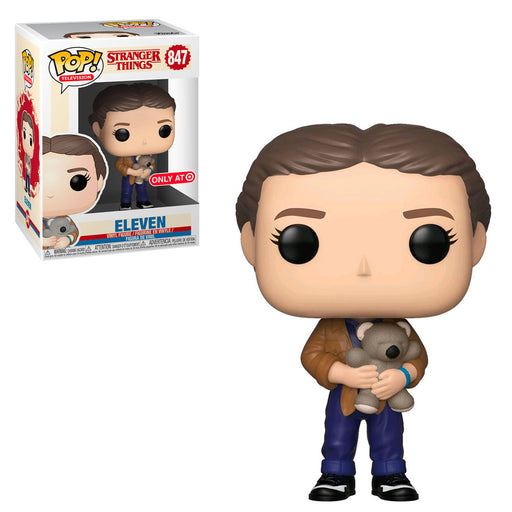STRANGER THINGS - ELEVEN WITH TEDDY BEAR (EXCLUSIVE) (SEASON 3)