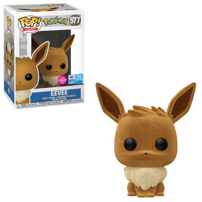 POKÉMON - EEVEE (FLOCKED) EXCLUSIVE