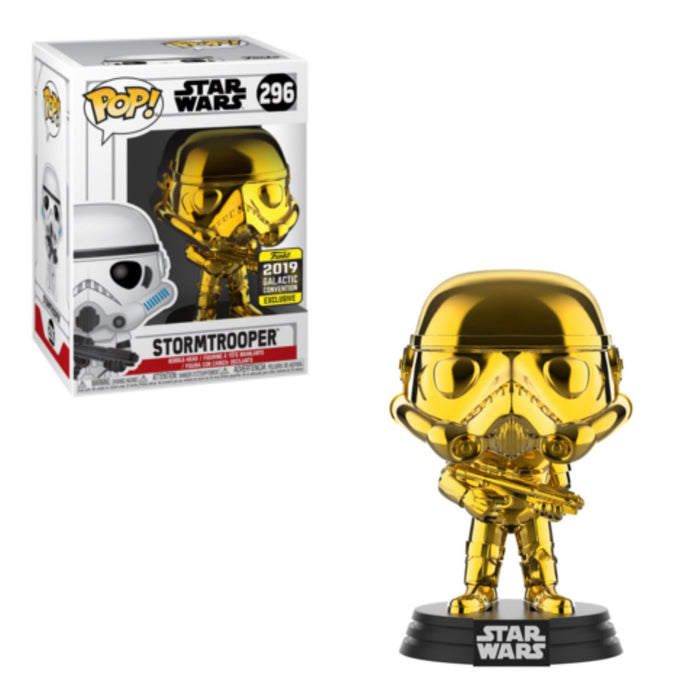 STAR WARS: GOLD CHROME - STORMTROOPER (EXCLUSIVE)