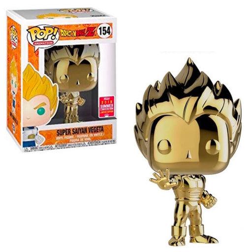 DRAGON BALL Z - SUPER SAIYAN VEGETA (GOLD) EXCLUSIVE
