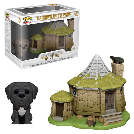 HARRY POTTER - HAGRID'S HUT WITH FANG (POP TOWN)