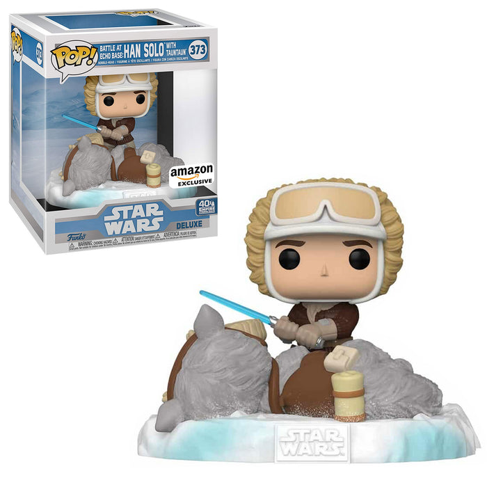 STAR WARS: EMPIRE 40TH - BATTLE AT ECHO BASE: HAN SOLO WITH TAUNTAUN (POP DELUXE) (EXCLUSIVE)