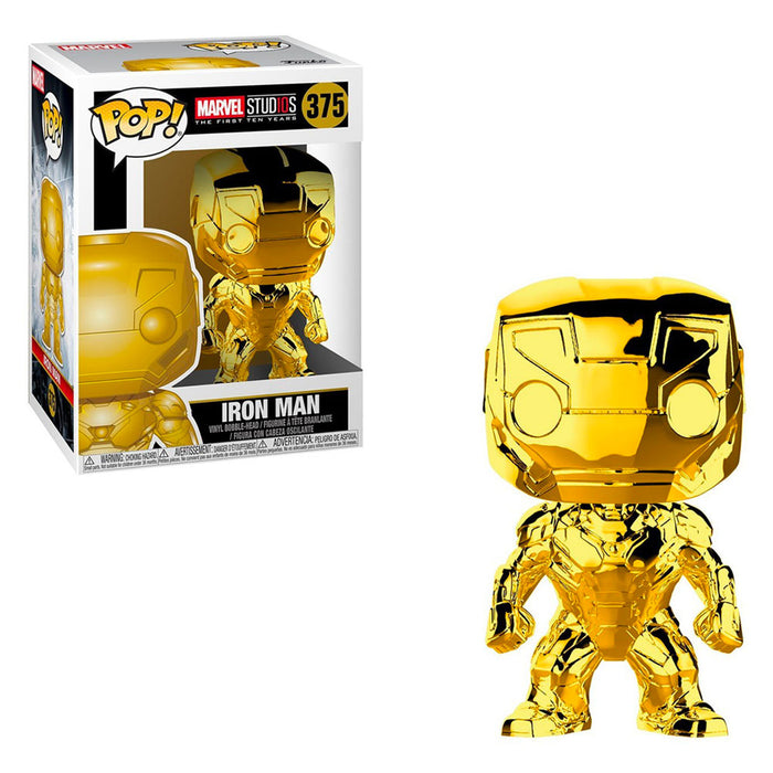 MARVEL STUDIOS - IRON MAN (GOLD CHROME)