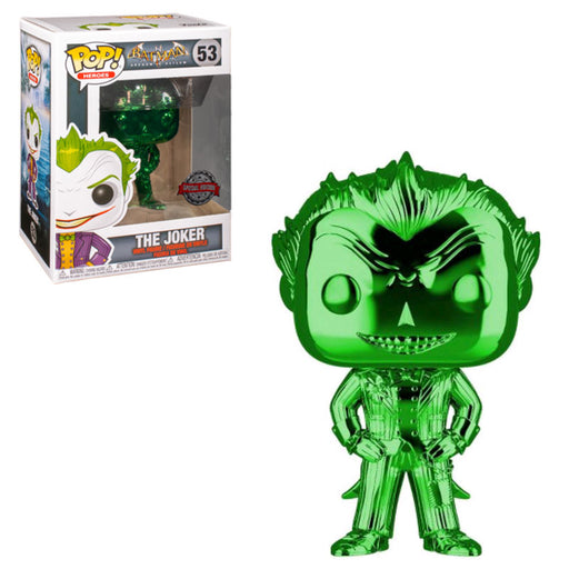 BATMAN: ARKHAM ASYLUM - CHROME JOKER (GREEN) EXCLUSIVE