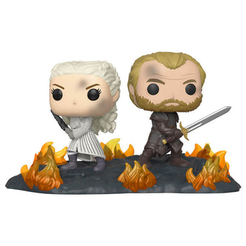 GAME OF THRONES - DAENERYS & JORAH (WITH SWORDS) (TV MOMENTS)