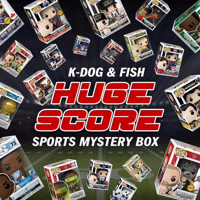 "K-DOG & FISH: ""HUGE SCORE"" SPORTS MYSTERY BOX! (SOLD OUT)"