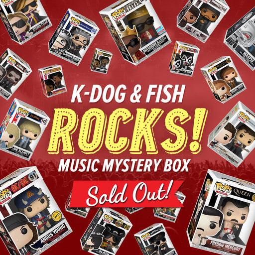 K-DOG & FISH ROCKS! MUSIC MYSTERY BOX (SOLD OUT)