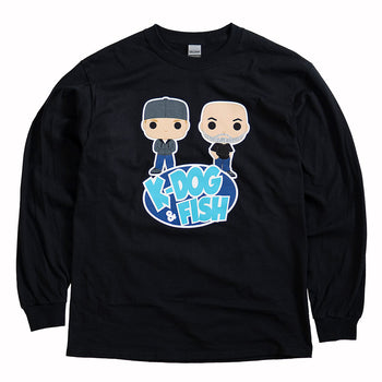 K-DOG & FISH: LONGSLEEVE SHIRT - YOUTUBE LOGO